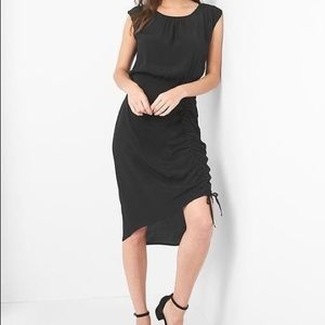 NWT Gap Cap Sleeve Dress with adjustable rouching